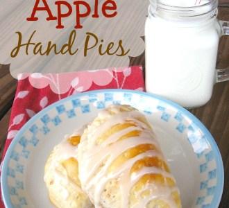 Baked Apple Hand Pies on gracefullittlehoneybee.com