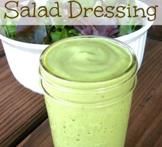 Avocado & Lime Salad Dressing on gracefullittlehoneybee.com