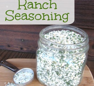 Homemade Ranch Seasoning on gracefullittlehoneybee.com
