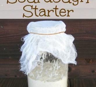 How to Make Sourdough Starter on gracefullittlehoneybee.com