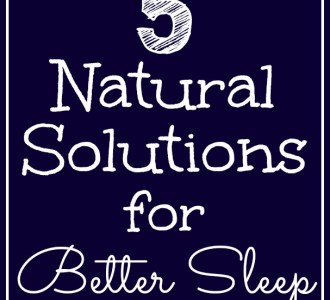 If you find it hard to fall asleep at night you may want to try these 5 Natural Solutions for Better Sleep!
