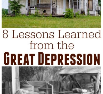 Check out this list of 8 life lessons learned from the hard times of the Great Depression on gracefullittlehoneybee.com