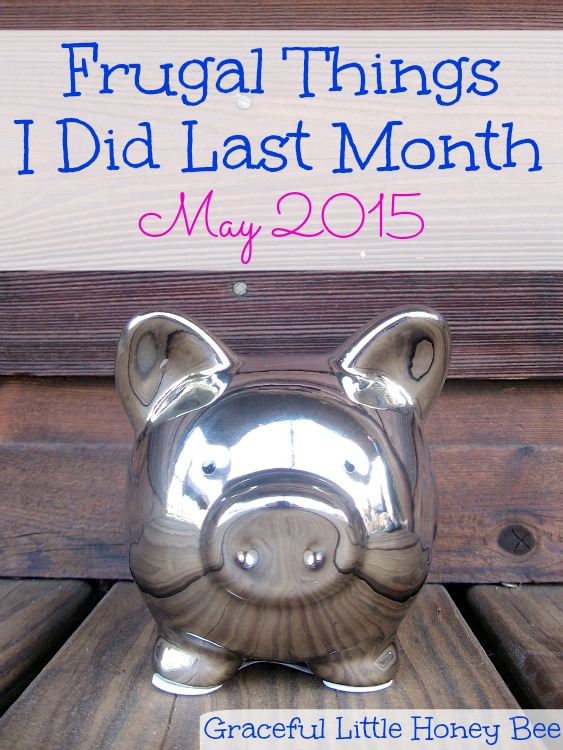 Check out some of the frugal things that I did last month including thrifting and cutting my families hair!