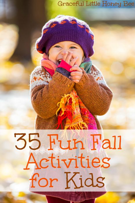 Check out these fun activities to do with your family this Fall on gracefullittlehoneybee.com