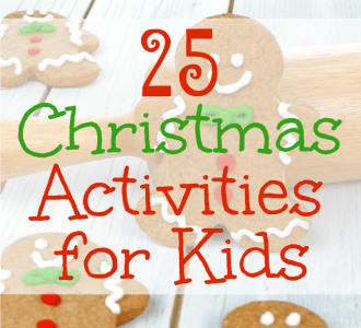 Slow down and enjoy the season with this list of 25 Christmas Activities for Kids + a FREE CHRISTMAS BUCKET LIST PRINTABLE on gracefullittlehoneybee.com