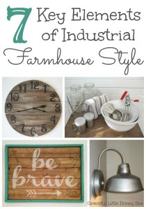 7 Key Elements of Industrial Farmhouse Style