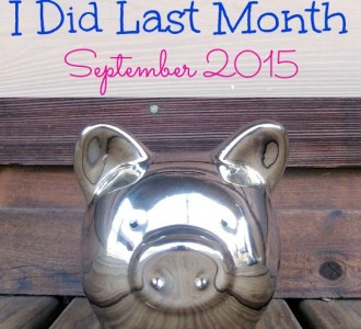 See what frugal things I did last month on gracefullittlehoneybee.com