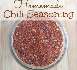 Learn how to make this easy homemade chili seasoning on gracefullittlehoneybee.com