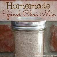 Homemade Spiced Chai Mix