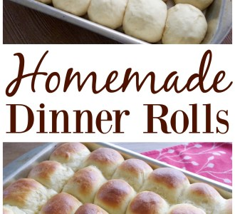 See how easy it really is to make homemade dinner rolls on gracefullittlehoneybee.com