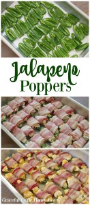 Learn how to make these addicting Cheesy Jalapeno Poppers on gracefullittlehoneybee.com!