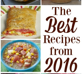 See a list of the best recipes from 2016 in this end of the year round up on gracefullittlehoneybee.com