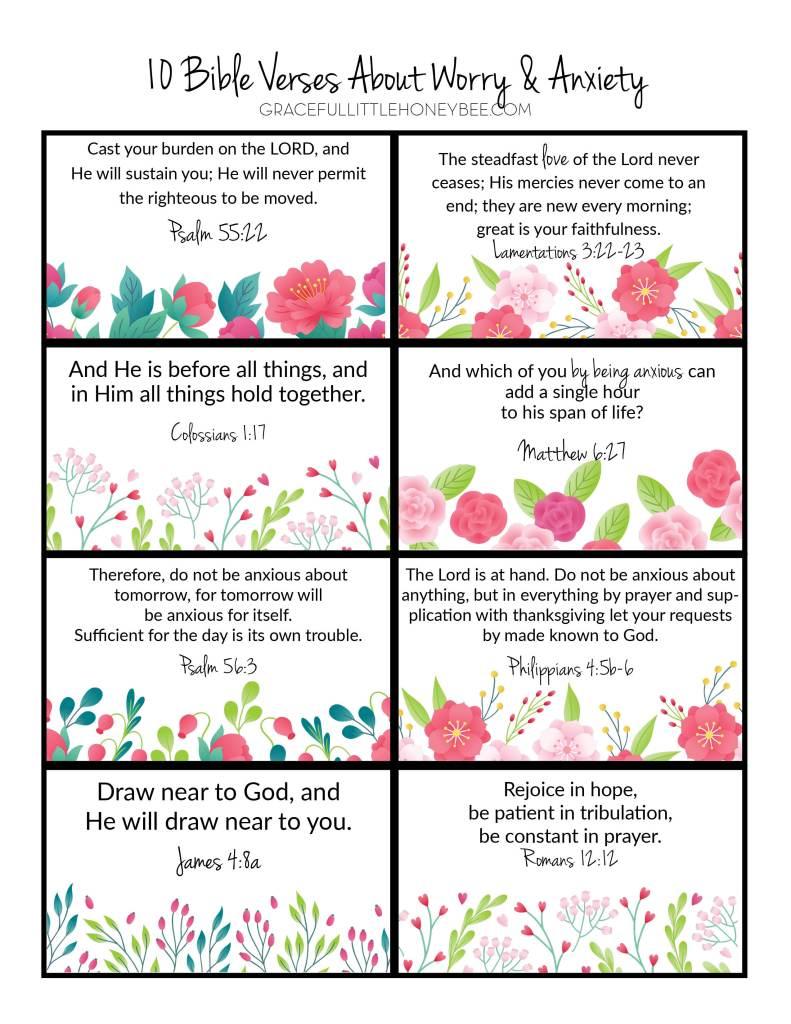 Scripture memory cards.