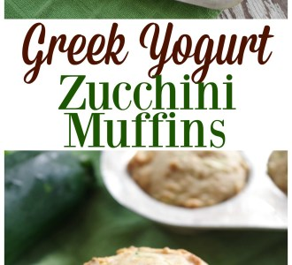 See how to make these delicous greek yougurt zucchini muffins on gracefullittlehoneybee.com