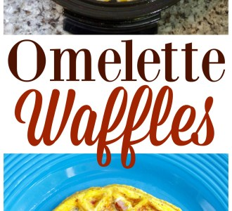 Try making these Omelette Waffles for a fun breakfast!