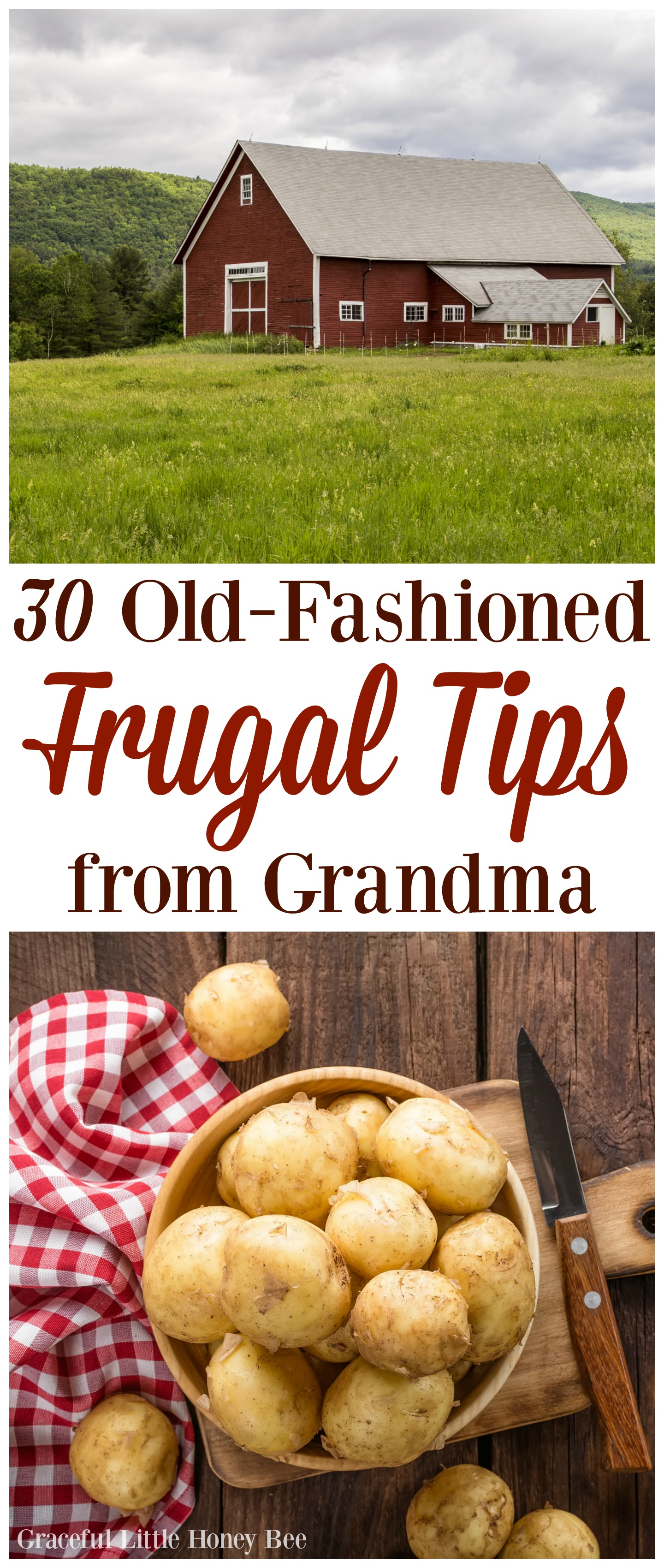 30 Old-Fashioned Frugal Tips From Grandma - Graceful Little