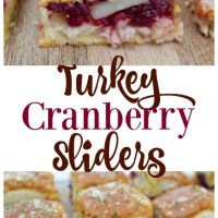 Turkey Cranberry Sliders