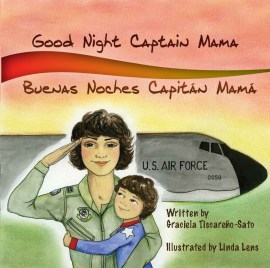 1st bilingual children's picture book teaching young children why women and mommies wear military uniforms and serve in our nation's armed forces.