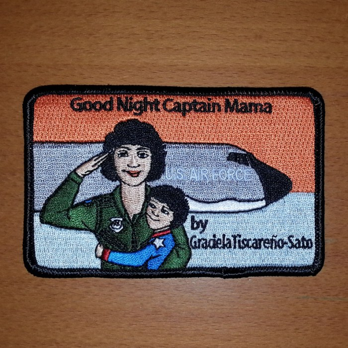 Good Night Captain Mama Patch