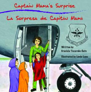"HARDCOVER Book 2: ""Captain Mama's Surprise / La Sorpresa de Capitán Mamá"" (unsigned)"