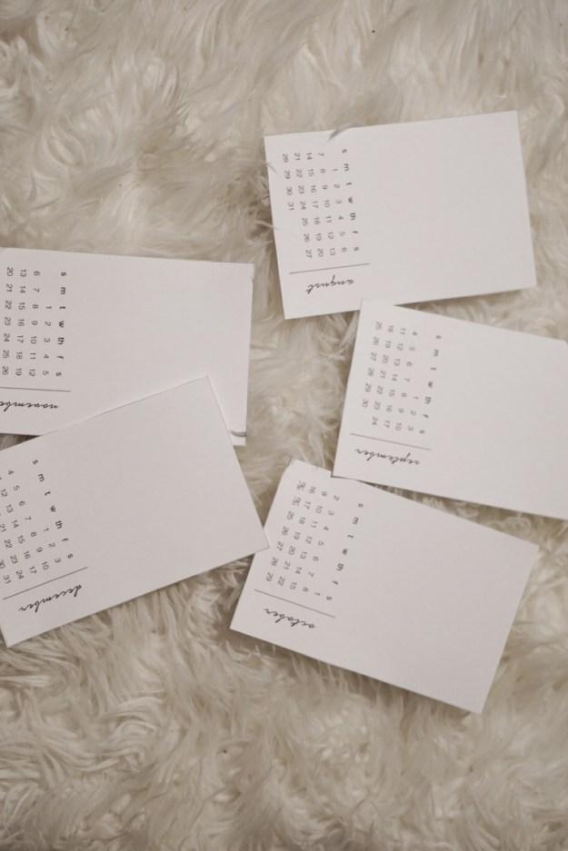 Diy Photo Calendar : Diy photo calendar graceful mommy