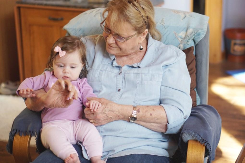 Visiting Gracie's Great Grandparents! Gracefulmommy.com