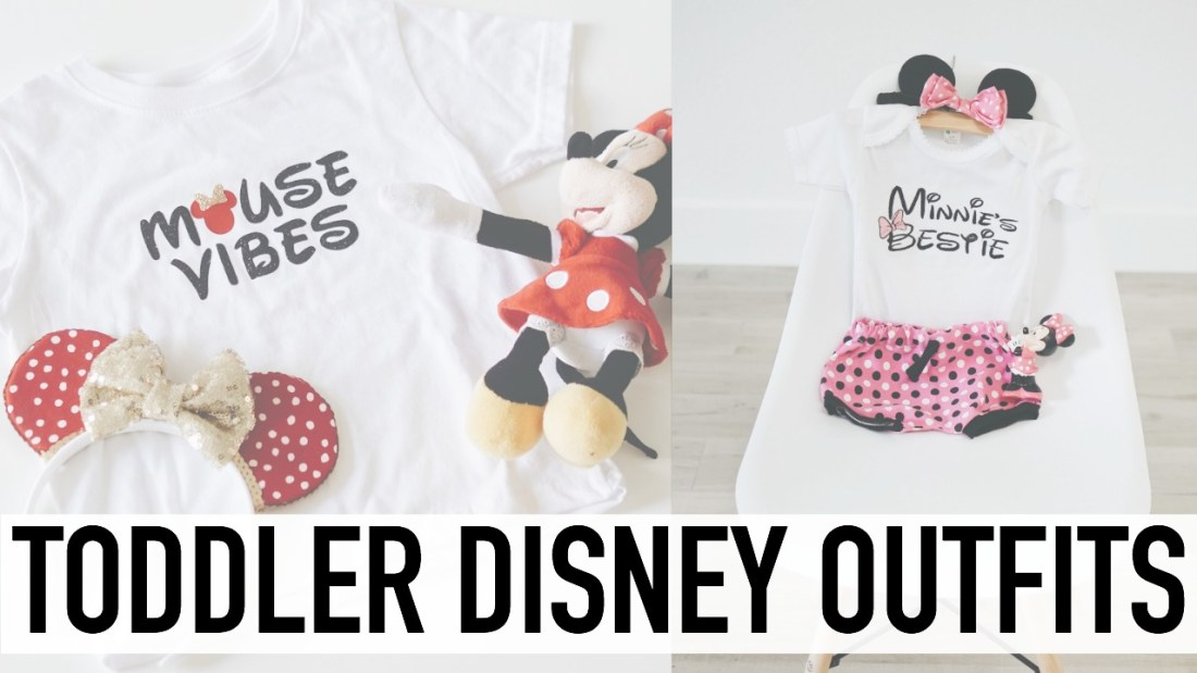 The cutest Toddler Disney Outfits! Ah, these are so perfect for our disney trip!! Pinning for later :)