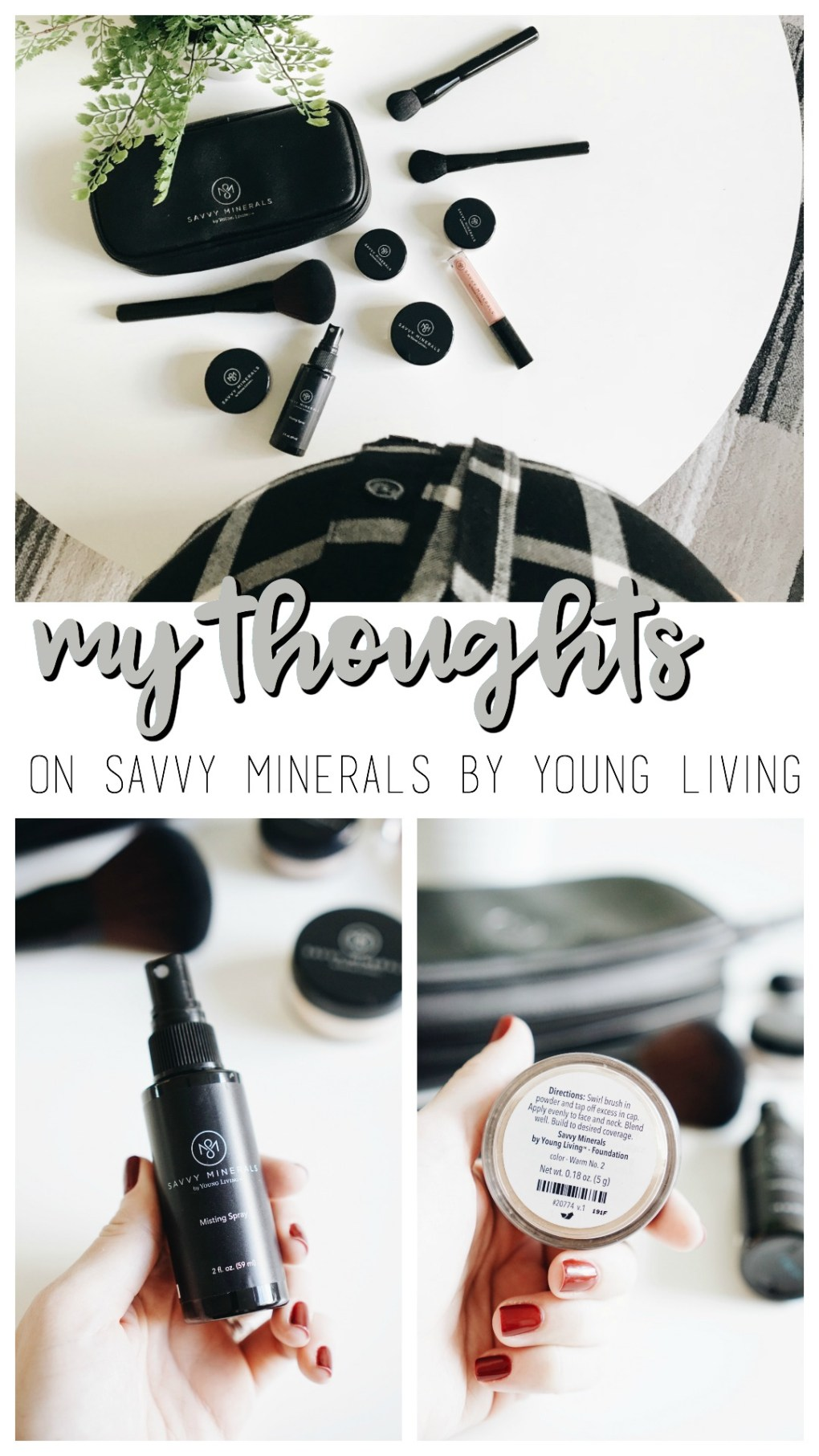Safer Skincare with Savvy Mineral Makeup by Young Living!