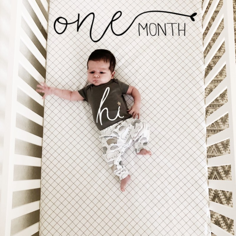 Baby's First Month \ Graceful Mommy