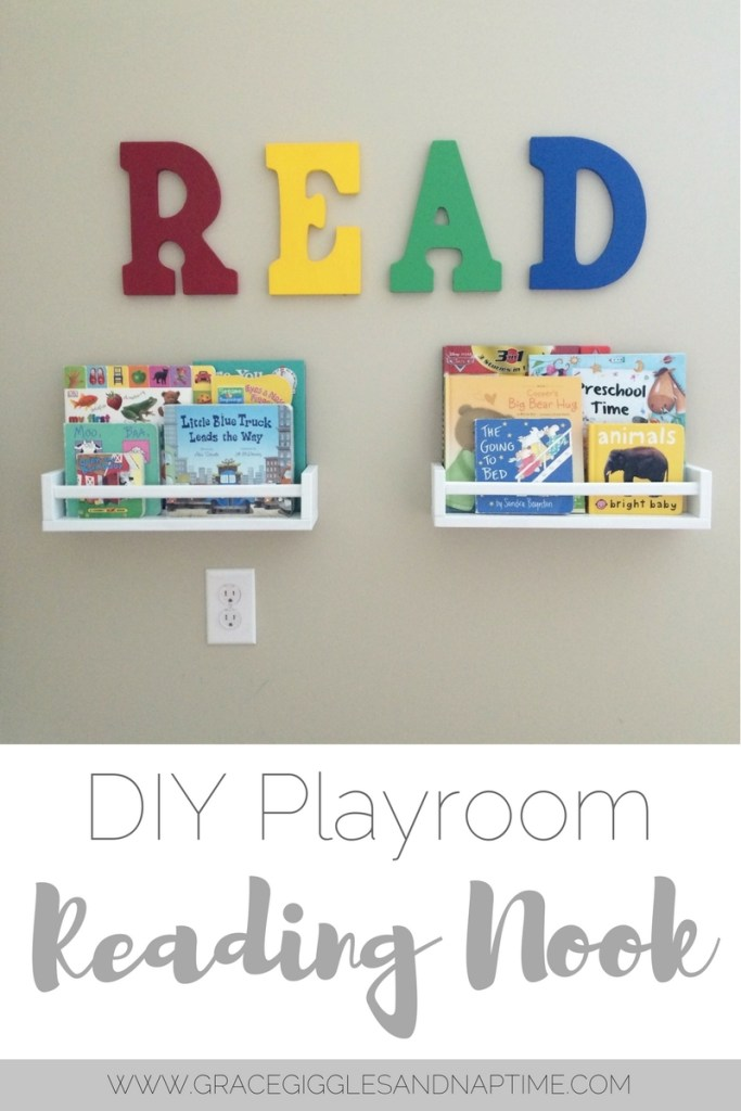 DIY Playroom Reading Nook