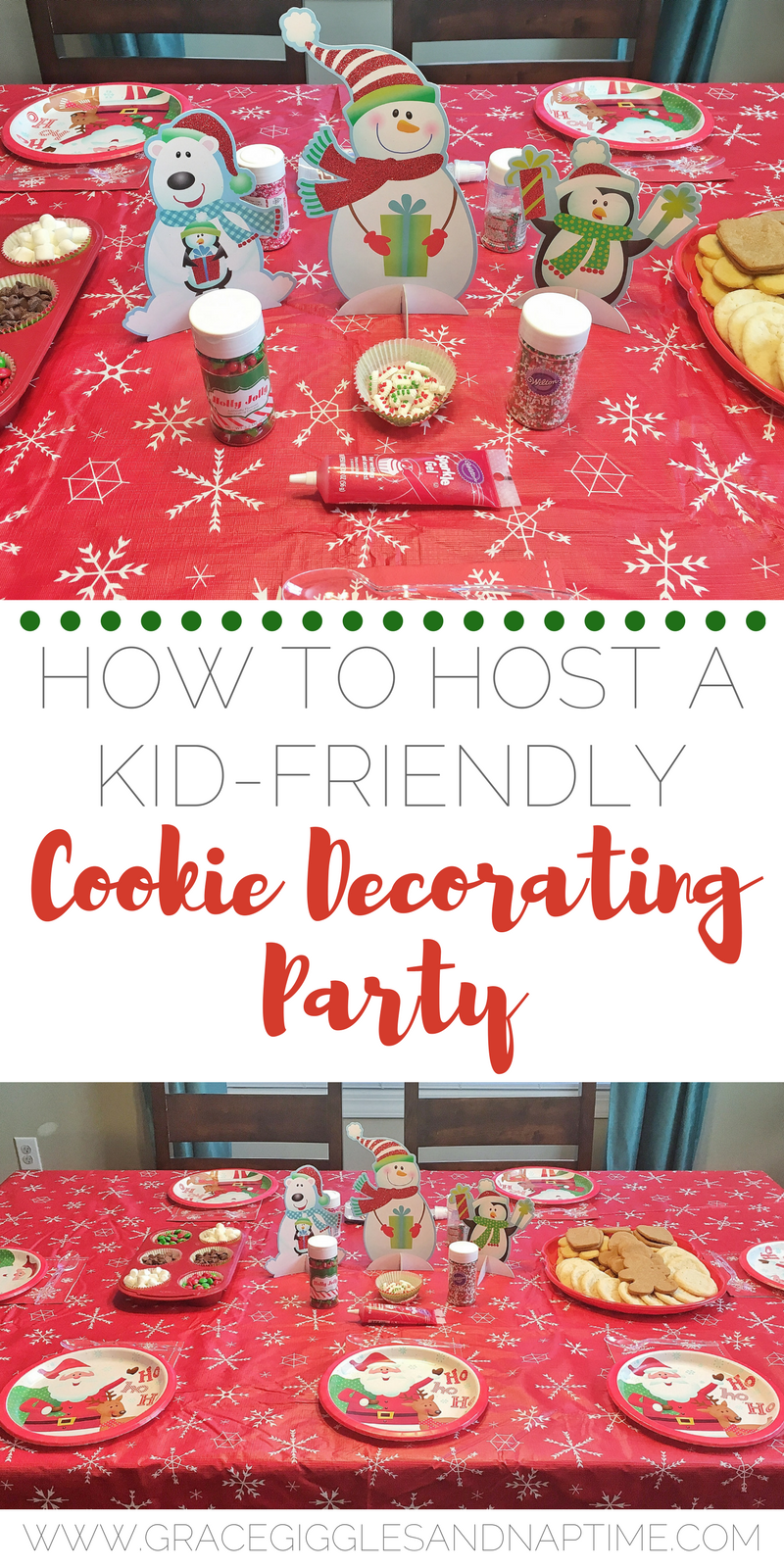 How to Host A Kid-Friendly Cookie Decorating Party