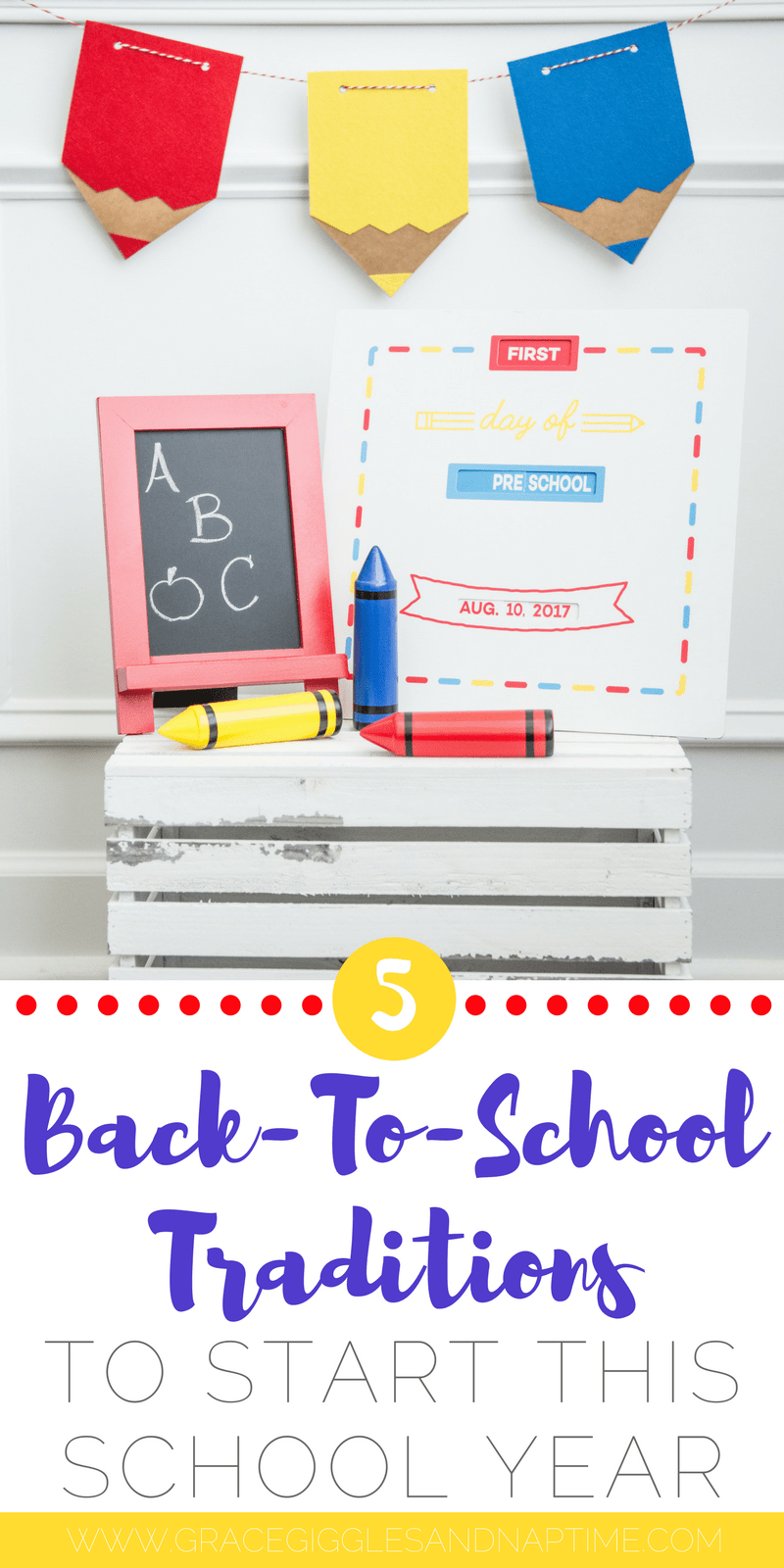5 Back-To-School Traditions to Start this School Year