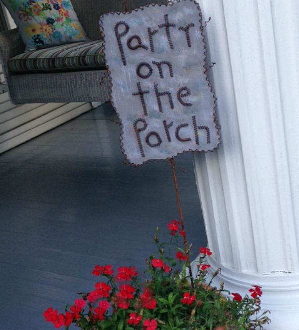 Host a Southern Porch Party  grace grits and gardening