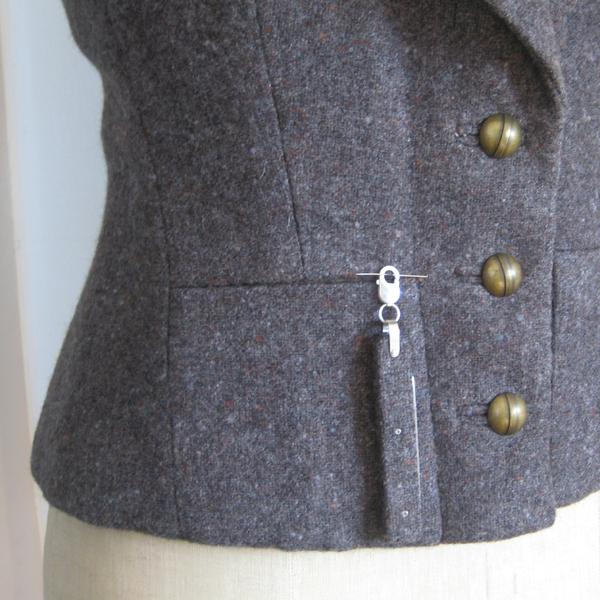 Tweed Corset Knife – Corset