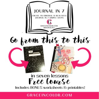FREE COURSE: CREATE AN ORIGINAL JOURNAL IN 7 STEPS