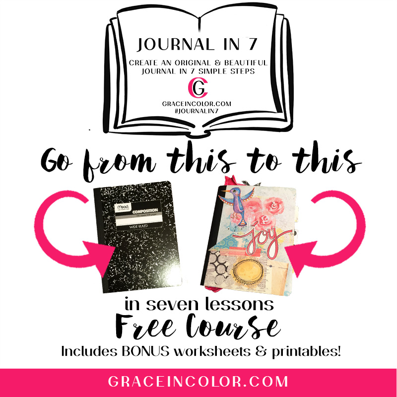 Free course. Art Journal. Bible Journal.