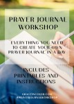 Prayer Journal Workshop and Printables