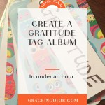 Create a Gratitude Tag Album in Under an Hour
