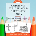Coloring: explore your creativity easily {Free Coloring Pages}