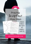 Praying Scripture Over Men: Husbands, Fathers and Brothers