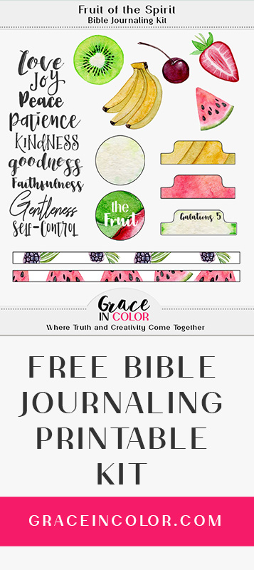 Free Bible Journaling Printable Kit