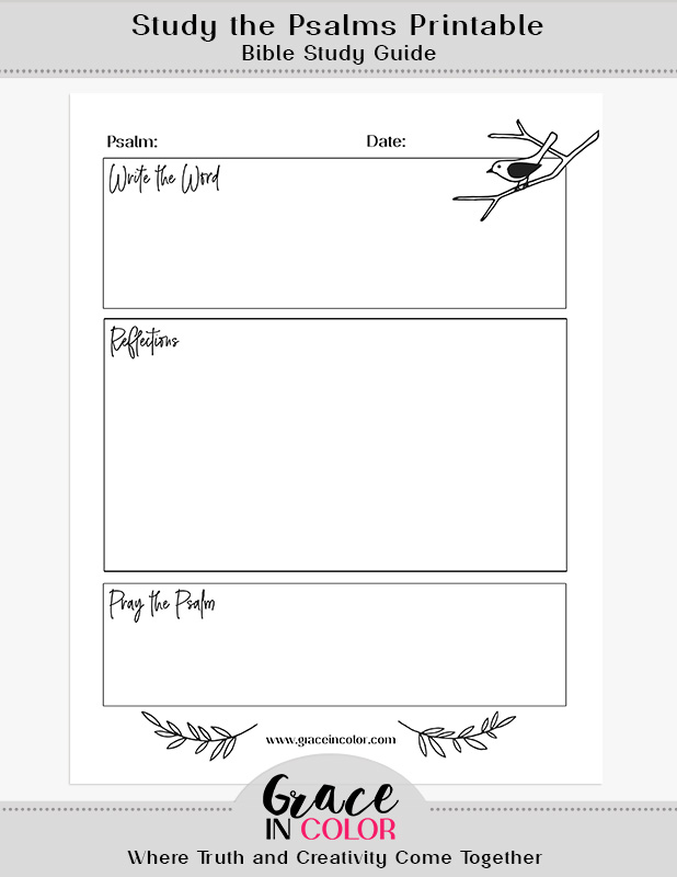 image about Free Printable Bible Journaling Pages identify Absolutely free - Grace inside of Coloration