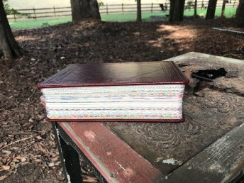 Bible Journaling: How to create washi tape edges