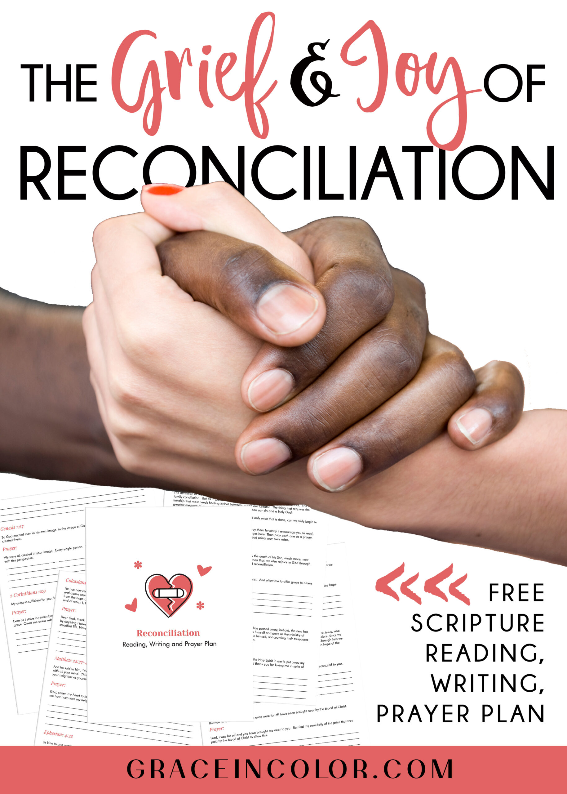 The Grief and Joy of Reconciliation by Grace in Color