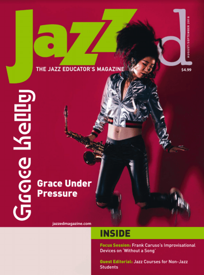 JAZZed September 2018 Cover Photo