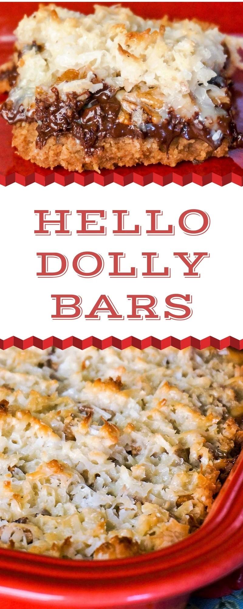 Hello Dolly Cookie Bars Grace Like Rain Blog