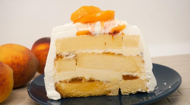 Peaches N Cream Icebox Cake Grace Like Rain Blog