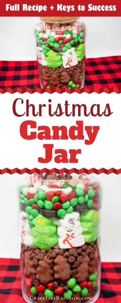 Christmas Candy Jar Grace Like Rain Blog