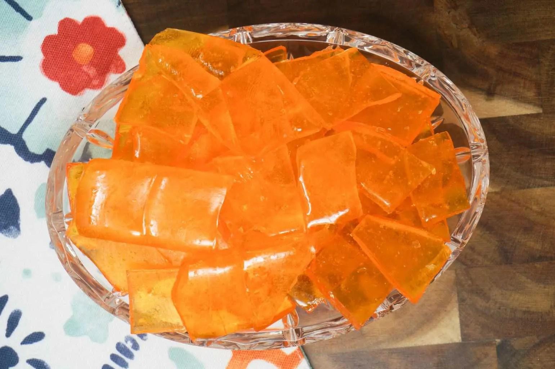 Butterscotch Hard Candy