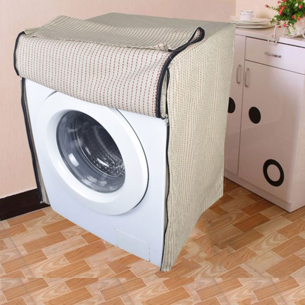 Front load washing machine cover 114